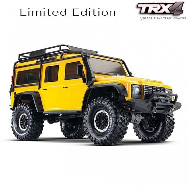 CB82056-4Y  TRX-4 Yellow Limited Edition Scale Crawler