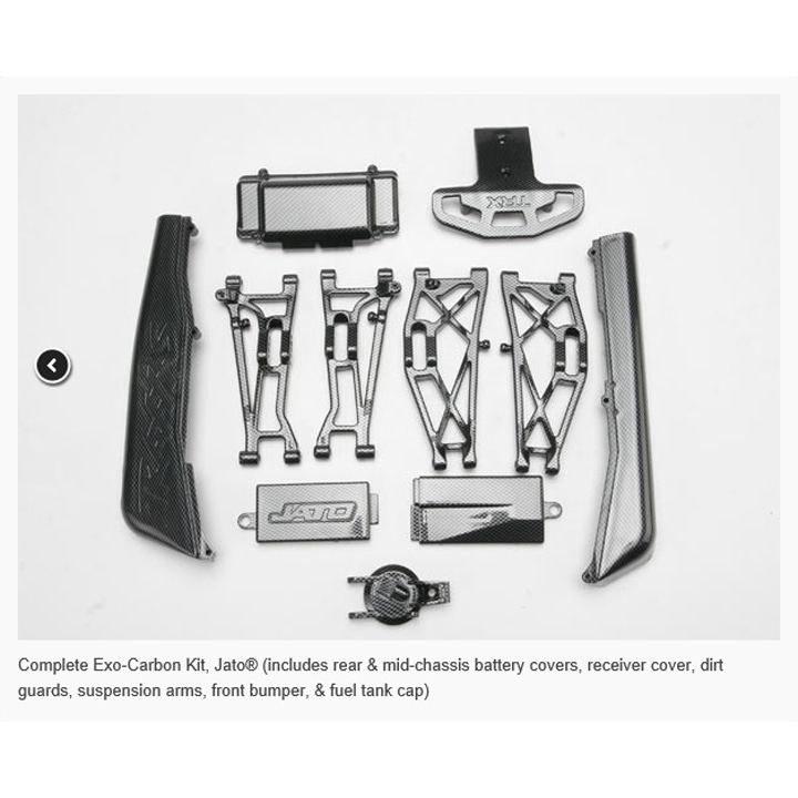 AX5522G Complete Exo-Carbon Kit, Jato® (includes)