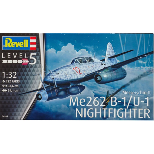 BV4995-B 1/32 Messerschmitt Me262 B-1/U-1 Nightfighter 박스 손상 할인 제품