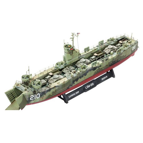 BV5123 1/144 U.S.Navy Landing Ship Medium (early) (New Tool- 2014)
