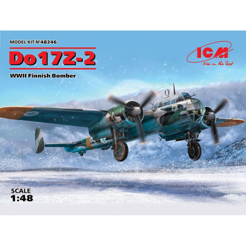 BICM48246 1/48 Do17Z-2, WWII Finnish Bomber