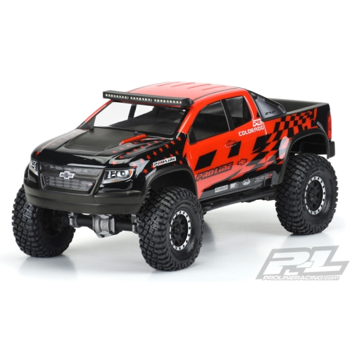 "AP3517 Chevy Colorado ZR2 Clear Body for 12.3"" -미도색투명바디"