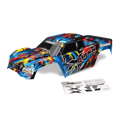 AX7711T Body,X-Maxx Rock n Roll(painted,decals)
