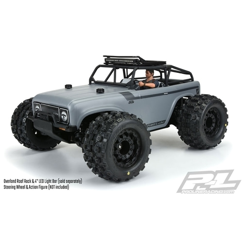 APK4005-002 Ambush MT 4x4 with Trail Cage 1:10 4WD Monster Truck Pre-Built Roller