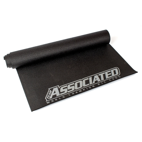 AASP428 AE 2018 Pit Mat, black, silver lettering
