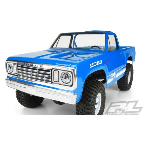 AP3525 1977 Dodge Ramcharger Clear Body