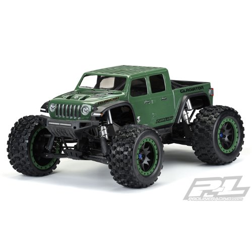 AP3533-17 Pre-Cut Jeep Gladiator Rubicon Clear Body,X-MAXX