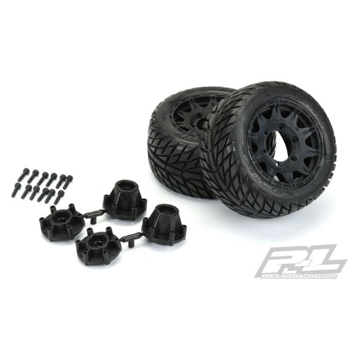 "AP10161-10 Street Fighter LP 2.8"" Street Tires Mounted"