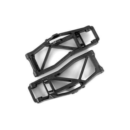 AX8999 Suspension arms, lower, black (left and right, front or rear) (2) (for use with #8995 WideMAXX™ suspension kit)