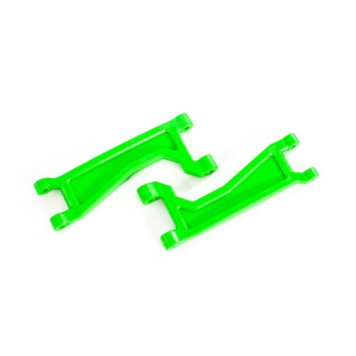 AX8998G Suspension arms, upper, green (left or right, front or rear) (2) (for use with #8995 WideMAXX™ suspension kit)