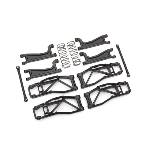 AX8995 Suspension kit, WideMAXX™, black (includes front & rear suspension arms, front toe links, rear shock springs)
