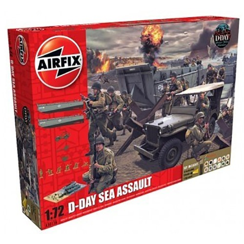 BB50156A 1/72 D-Day The Sea Assault Gift Set