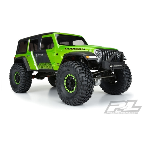 2020-NEW AP3546 Jeep® Wrangler JL Unlimited Rubicon Clear Body for 12.3 For Enduro