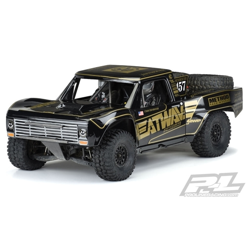 2020-NEW AP3547-18 Pre-Painted / Pre-Cut 1967 Ford® F-100 Race Truck Heatwave® Edition (Black)