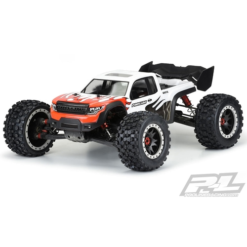 2020-NEW AP3548-17 Pre-Cut Brute Clear Body for ARRMA® Kraton™ 8S
