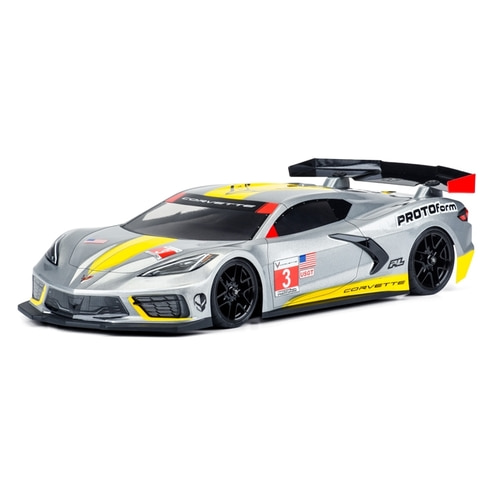 2020-NEW AP1574-25 Chevrolet® Corvette™ C8 Clear Body for 190mm TC