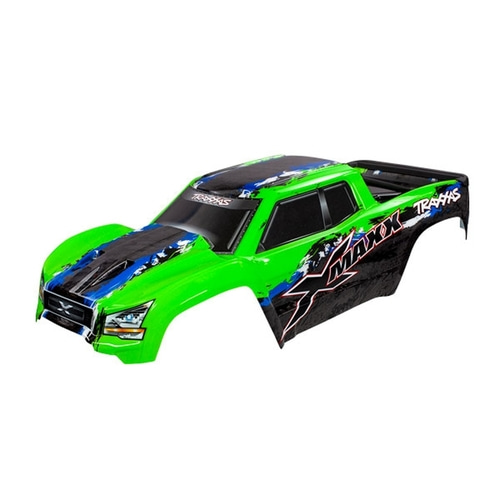 AX7811G Green X-Maxx Body /X-MAXX