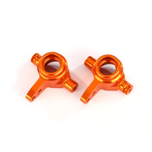 AX6837A STEERING BLOCKS,6061-T6(ORANGE)좌+우