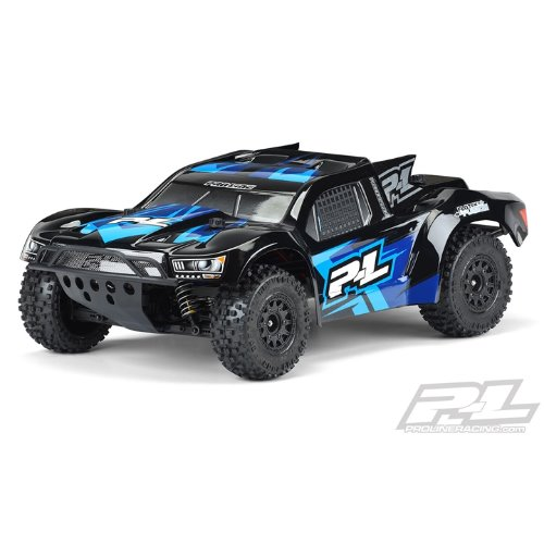 [입고]2020-NEW AP3458-18 Pre-Painted / Pre-Cut Flo-Tek Fusion (Black) Body PRO-Fusion SC 4x4, Slash® 2wd