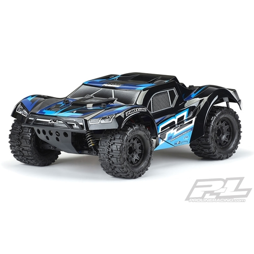 2020-NEW AP3498-18 Pre-Painted / Pre-Cut Monster Fusion (Black) Body SC 4x4, Slash® 2wd & Slash® 4x4 with 2.8