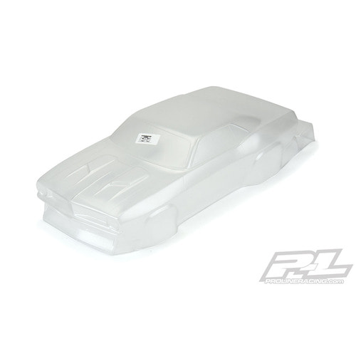AP3550 1972 P-Barracuda Clear Body,Slash 2wd
