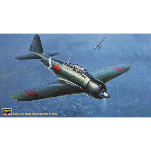 BH09117 1/48 Mitsubishi A6M3 Zero Fighter Type 22 (Zeke)