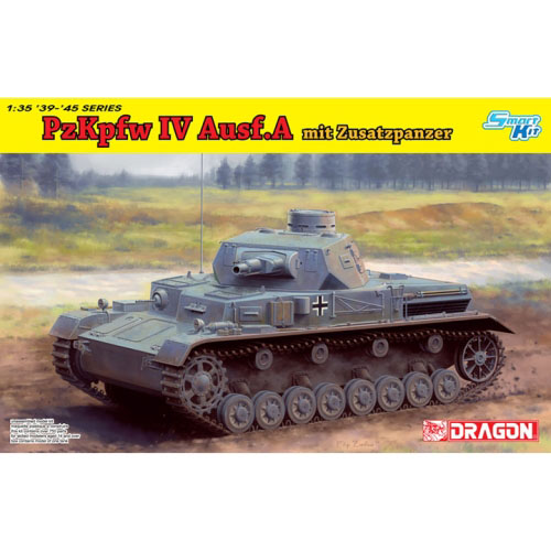 BD6816 1/35 Pz.Kpfw.IV Ausf.A Up-Armored Version