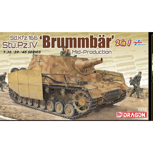 BD6892 1/35 Sd.Kfz.166 Stu.Pz.IV Brummbar Mid-Production