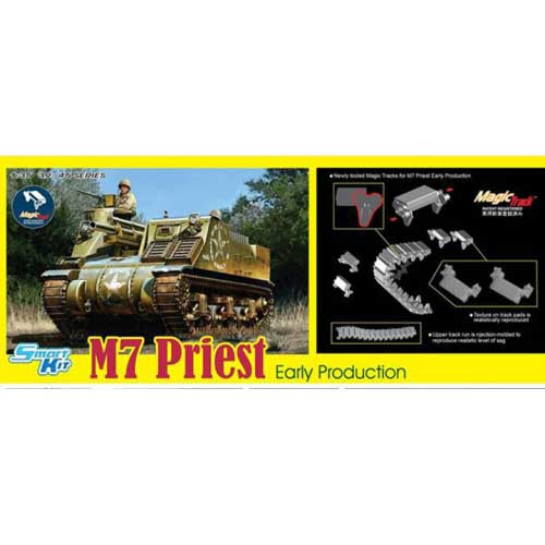 BD6817 1/35 M7 Priest Early Production w/Magic Tracks