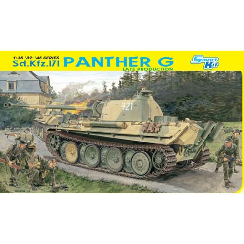 BD6268 1/35 Sd.Kfz.171 Panther G Late Production-매직 트랙 포함  - 행사품