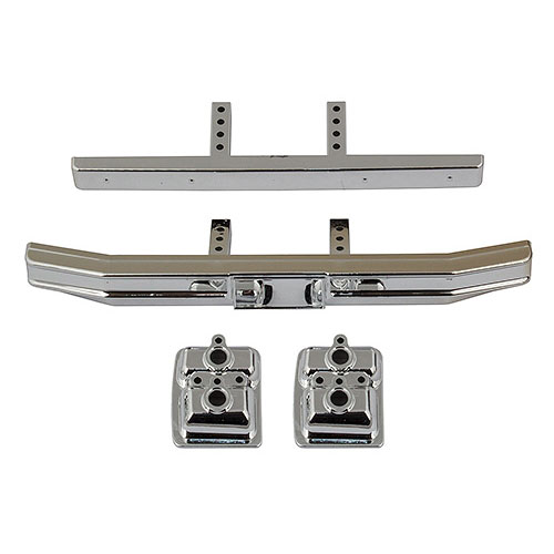 AA41057 CR12 Ford F-150 Bumper Set, chrome