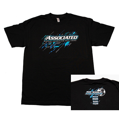 AASP124S AE 2017 Worlds T-Shirt, black, S
