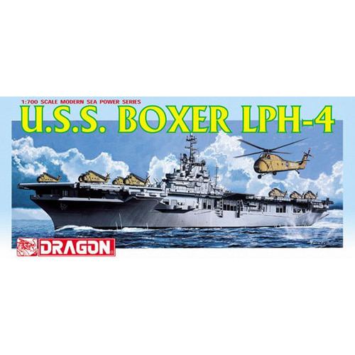 BD7070 1/700 U.S.S. Boxer LPH-4 Helicopter Carrier