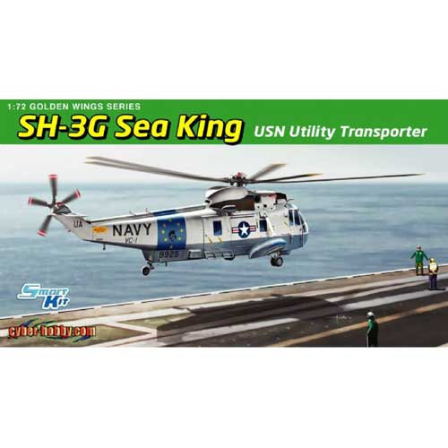 BD5113 1/72 SH-3G Sea King USN Utility Transporter
