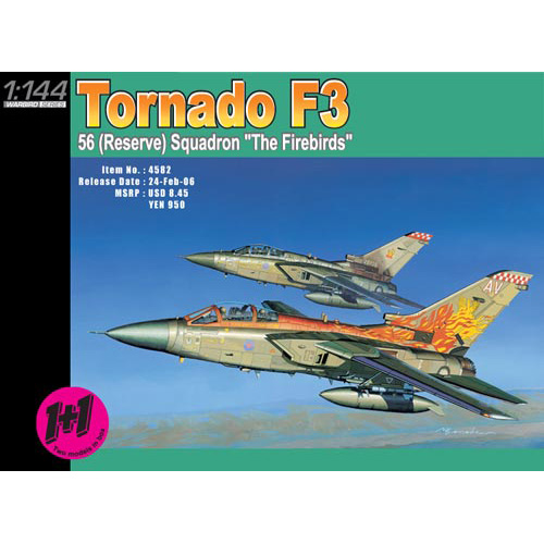 BD4582 1/144 Tornado F3 The firebird