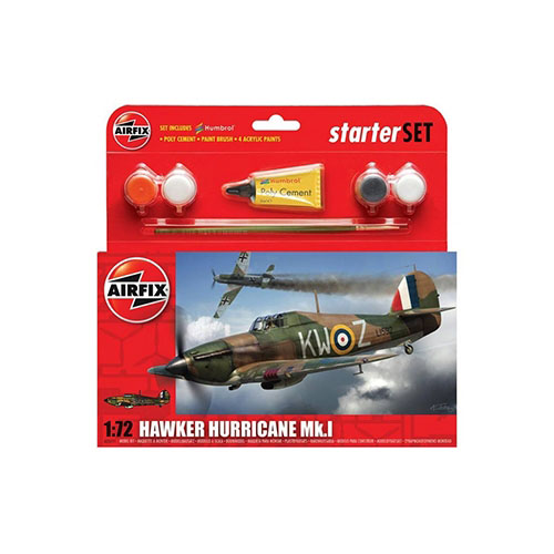 BB55111 1/72 Hawker Hurricane Mk I Starter Set