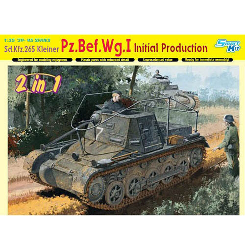 BD6597 1/35 Sd. Kfz. 265 Kleiner Pz.Bef.Wg.I Initial Production ~ Smart Kit (2 in 1)