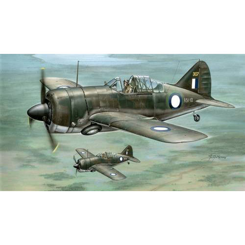 "BSH48057 1/48 Buffalo model 339-23 ""RAAF and US. Army Service"""