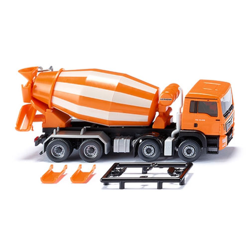 BW068148 1/87 Concrete mixer (MAN TGS Euro 6/Liebherr) - orange