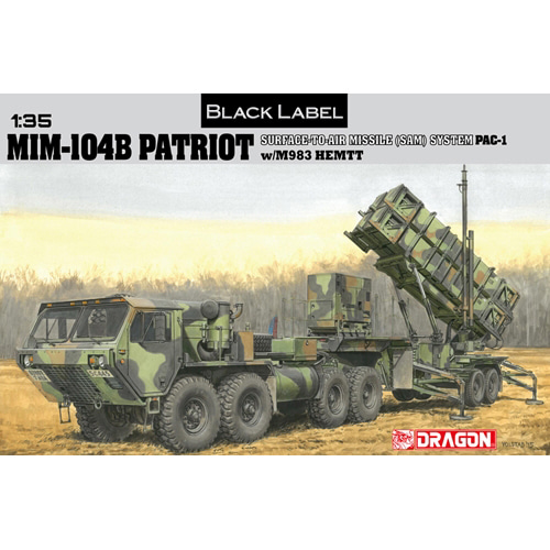 BD3558 1/35 MIM-104B Patriot Surface-To-Air Missile (SAM) System (PAC-1) w/M983 HEMTT - Black Label Series-와이어 누락