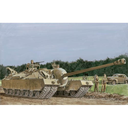 BD6750 1/35 T-28 Super Heavy Tank - Smart Kit