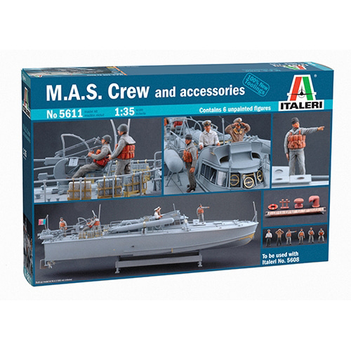 BI5611 1/35 M.A.S. Crew and accessories (New Tool- 2013)