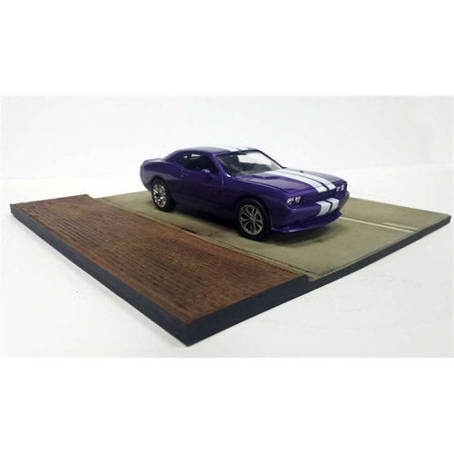 ESTDD24001 1/24 Car Street Section -차량 미포함-크기:27.5cm X 27.5 cm