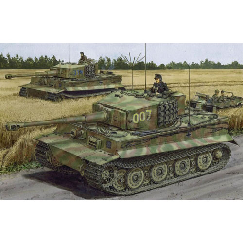 BD6800 1/35 Tiger I Last-Production Wittmanns Last Tiger