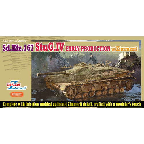 BD6576 1/35 Sd.Kfz.167 Stug. IV Early Production w/Zimmerit