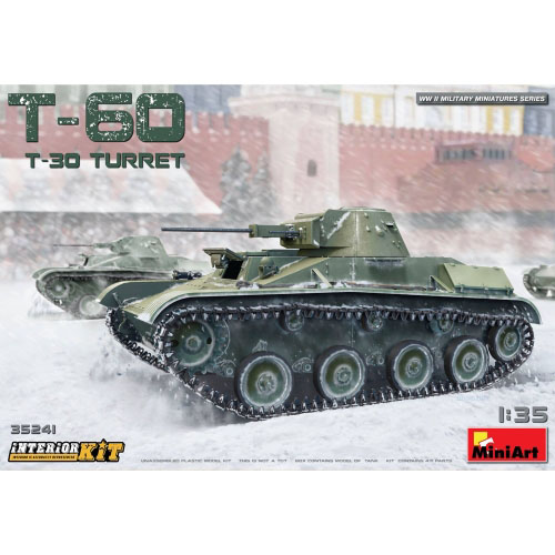 BE35241 1/35 T-60 T-30 Turret