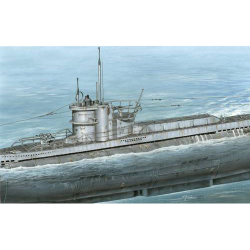 "BSSN72005 1/72 U-boat type VIID Minelayer ""Conversion set for Revell kit U-boat VIIC""(디테일업 파트)"
