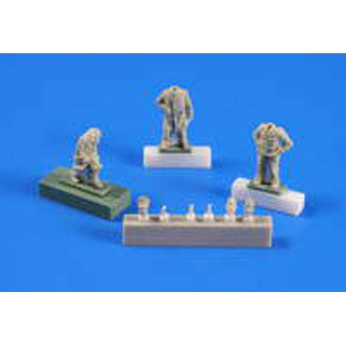 BSF72249 1/72 U-boat U-IX ? Crew returning from a cruise part. II (인형 3개) 1/72 for Revell kit