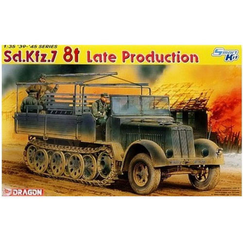 BD6562 1/35 Sd. Kfz.7 8t Halftrack Late Production