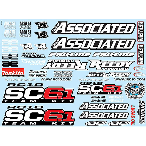 AA71131 SC6.1 Decal Sheet